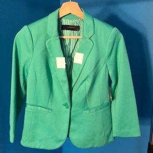Limited XSP green blazer NWT!